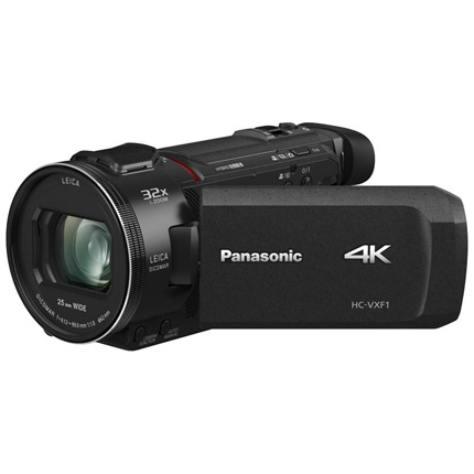 Panasonic HC-VXF1EB 4K Video Camera - Black