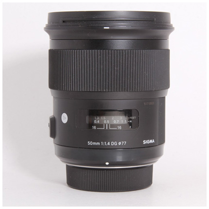Used Sigma 50mm f/1.4 Art - Nikon - Boxed