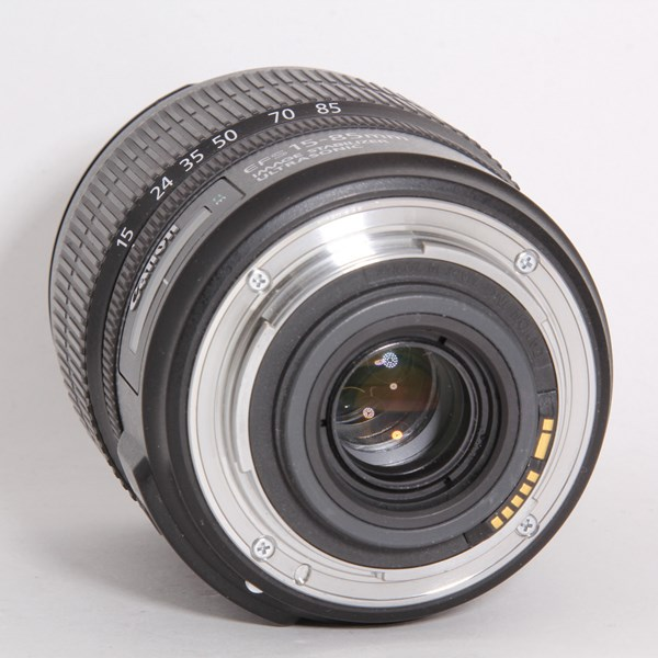 Used Canon 15-85mm f/3.5-5.6 IS USM - Un-Boxed