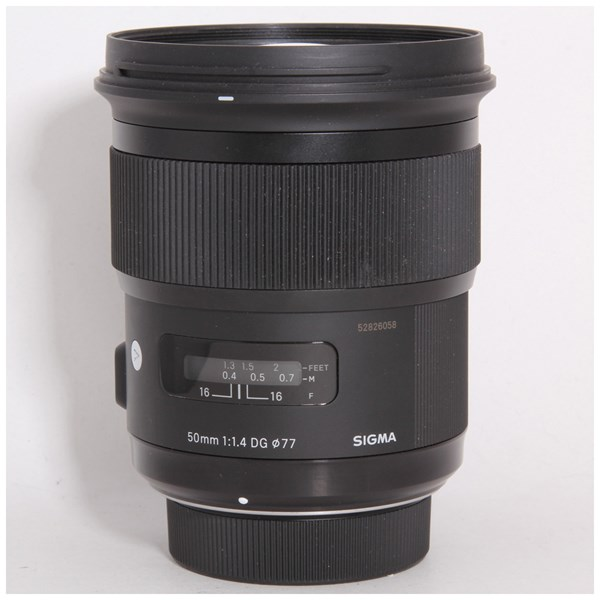 Used Sigma 50mm f/1.4 DG HSM Art - NIkon