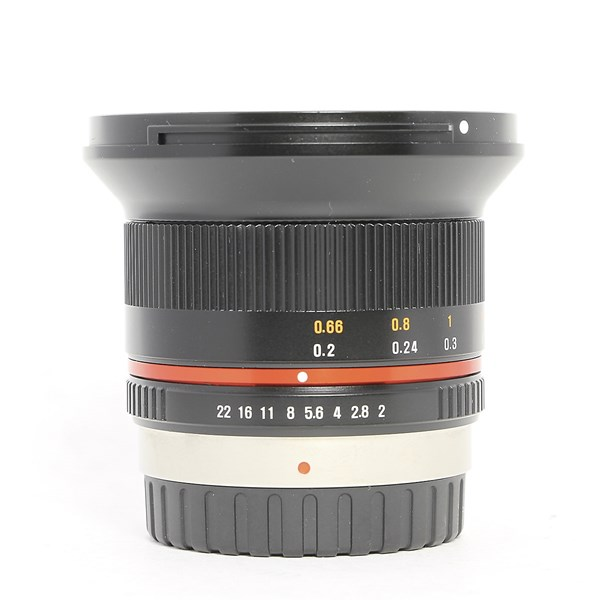 Used Samyang 12mm F/2 NCS CS MFT mount