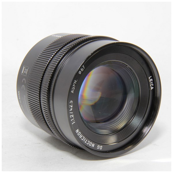 Used Panasonic 42.5mm f/1.2 Nocticron Lens Unboxed