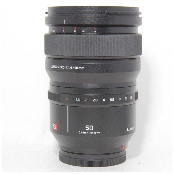 Used Panasonic 50mm F/1.4 S Pro S Boxed