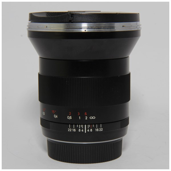 Used Zeiss Milvus 21mm F/2.8 ZE Lens Canon Fit