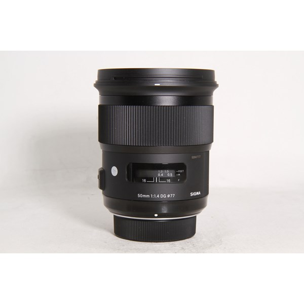 Used Sigma 50mm F/1.4 DG HSM Art Nikon Boxed