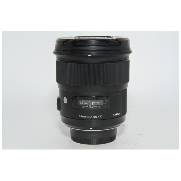 Used Sigma 24mm f1.4 Art Lens Nikon Fit