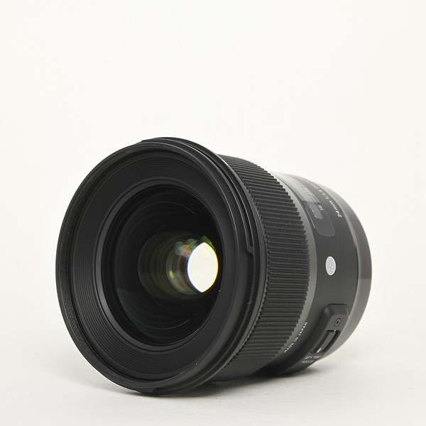 Used Sigma 24mm F/1.4 DG HSM Art Canon EF mount