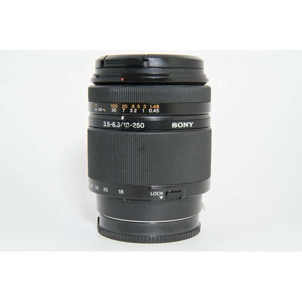 Used Sony Alpha 18-250mm f/3.5-6.3 Lens Unboxed