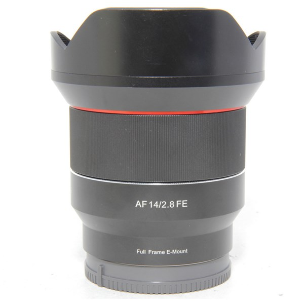 Used Samyang AF14mm f2.8 Sony FE Fit Lens Boxed