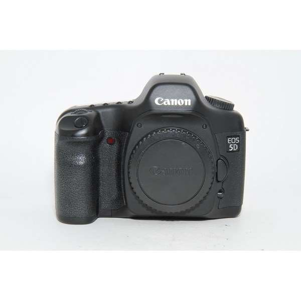 Used Canon EOS 5D Mark I Body - Unboxed