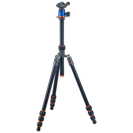3 Legged Thing Punks Travis Aluminium Travel Tripod with Airhed Neo Ball Head Kit