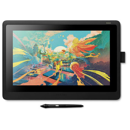Wacom Cintiq 16 interactive touch tablet display