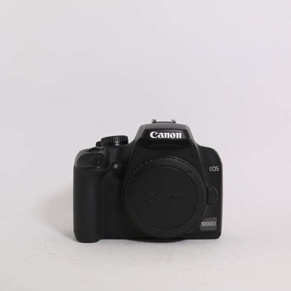 Used Canon EOS 1000D DSLR Camera Body Only