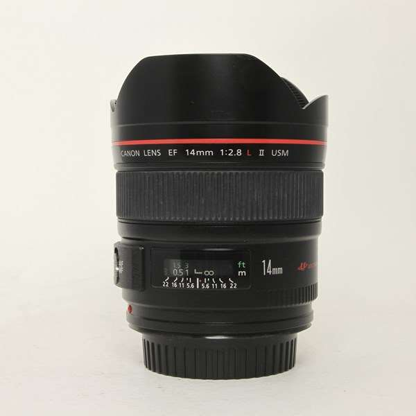 Used Canon EF 14mm F/2.8L II USM Ultra Wide Angle Lens