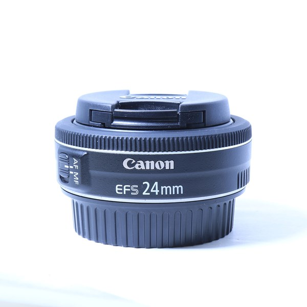 Used Canon EF-S 24mm f/2.8 STM Wide Angle Pancake Lens
