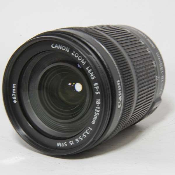 Used Canon EF-S 18-135mm f/3.5-5.6 IS STM Zoom Lens