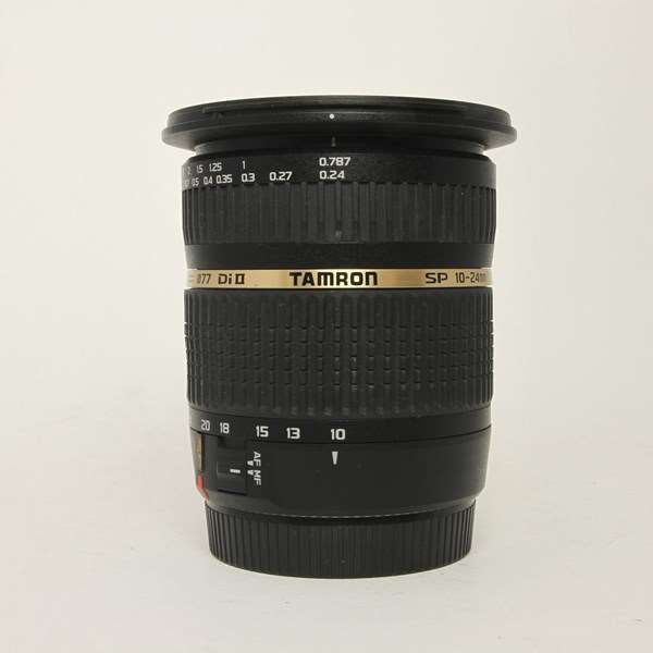Used Tamron SP AF 10-24mm F/3.5-4.5 Di II LD ASP IF Lens Canon Fit