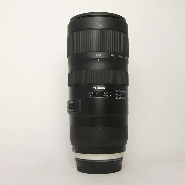 Used Tamron SP 70-200mm F/2.8 Di VC USD G2 Lens Canon EF