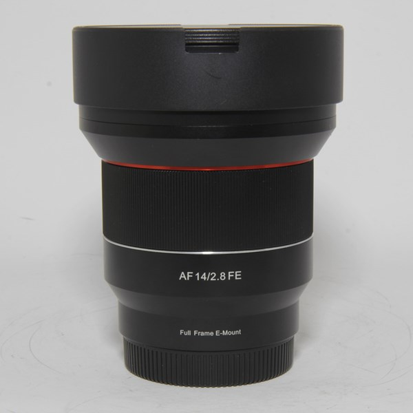 Used Samyang AF 14mm f/2.8 FE Ultra Wide Angle Lens Sony E
