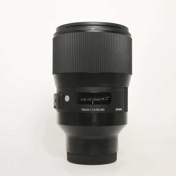 Used Sigma 135mm F/1.8 DG HSM Art Lens Sony E mount