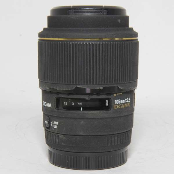 Used Sigma 105mm f/2.8 EX DG OS HSM - Sony A Mount