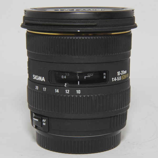 Used Sigma 10-20mm f/4-5.6 EX DC HSM Canon Fit
