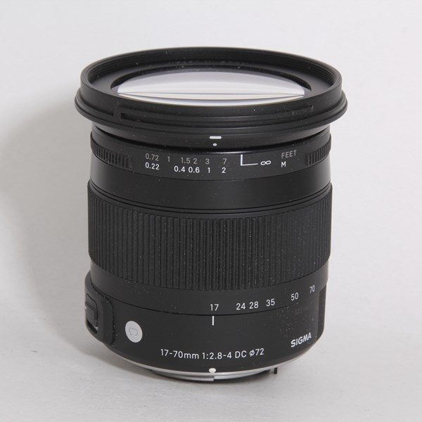 Used Sigma 17-70mm F/2.8-4 DC HSM Contemporary Macro - Pentax Non-OS