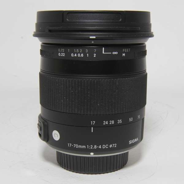 Used Sigma 17-70mm f/2.8-4 DC Contemporary Lens Pentax Fit