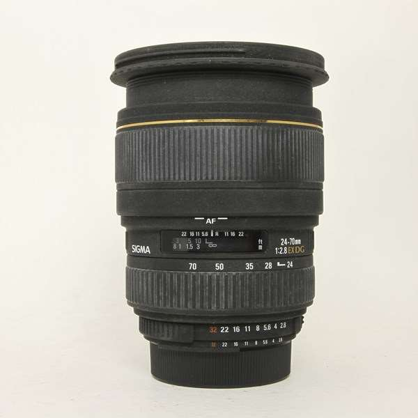 Used Sigma 24-70mm F/2.8 IF EX DG HSM Nikon Fit