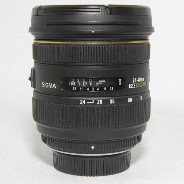 Used Sigma 24-70mm f/2.8 IF EX DG HSM - Nikon Fit