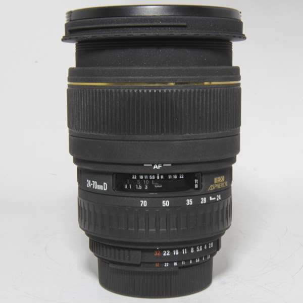 Used Sigma 24-70mm f2.8D DG EX Lens Nikon Fit