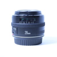 Used Canon EF 28mm f/2.8  Wide Angle Lens