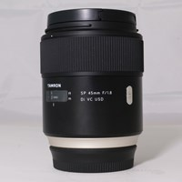 Used Tamron SP 45mm f/1.8 Di VC USD Prime Lens Canon EF