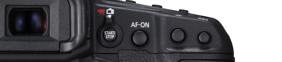 Canon EOS-1DX Mark II AF button