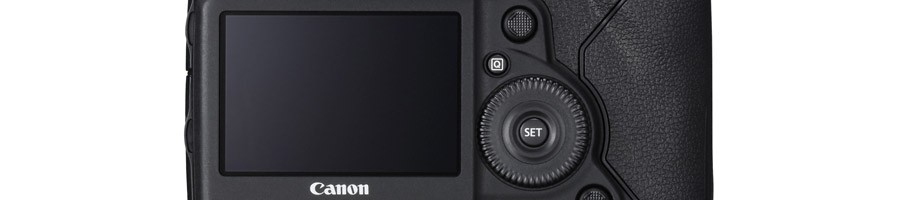 Canon EOS-1DX Mark II touchscreen LCD monitor
