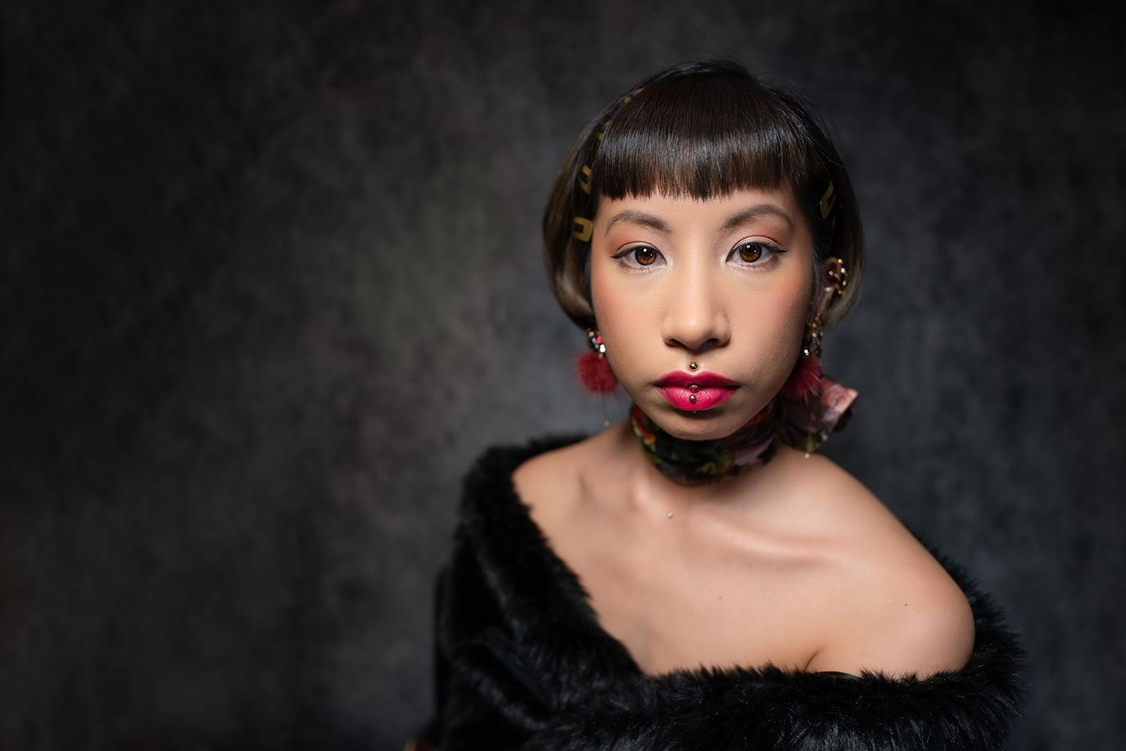 Sample portrait image with SEL2018 lens