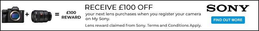 sony lens reward